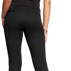 Old navy black pixie pants 4 tall